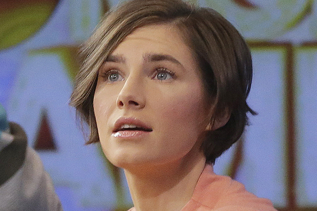 Amanda Knox (AP Photo/Mark Lennihan)